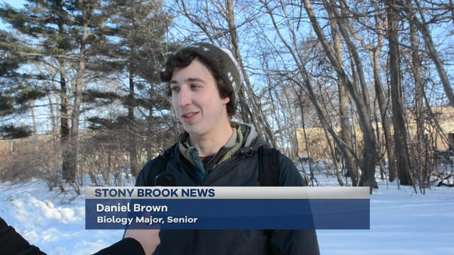 Stony Brook Newscast: Winter Storm Niko