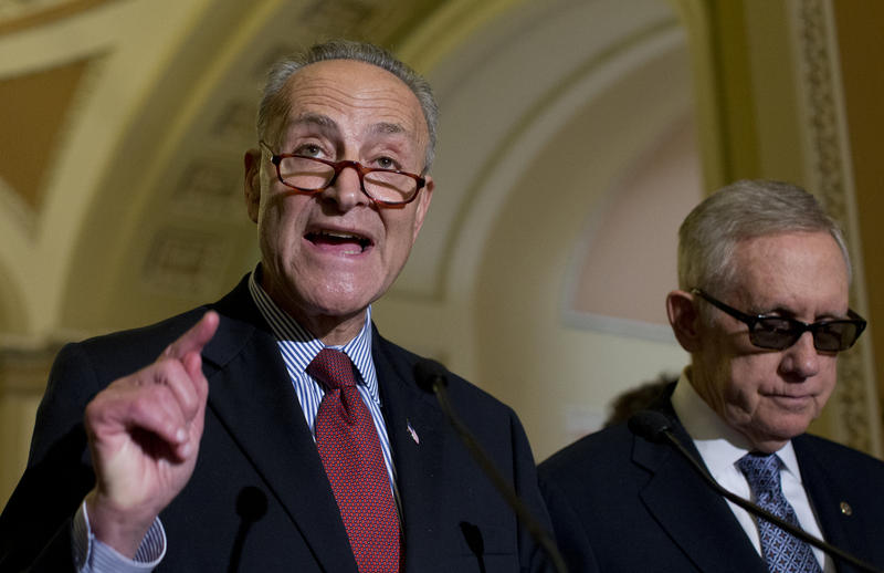 Schumer Pushes Hard Against Trump Tax Proposal