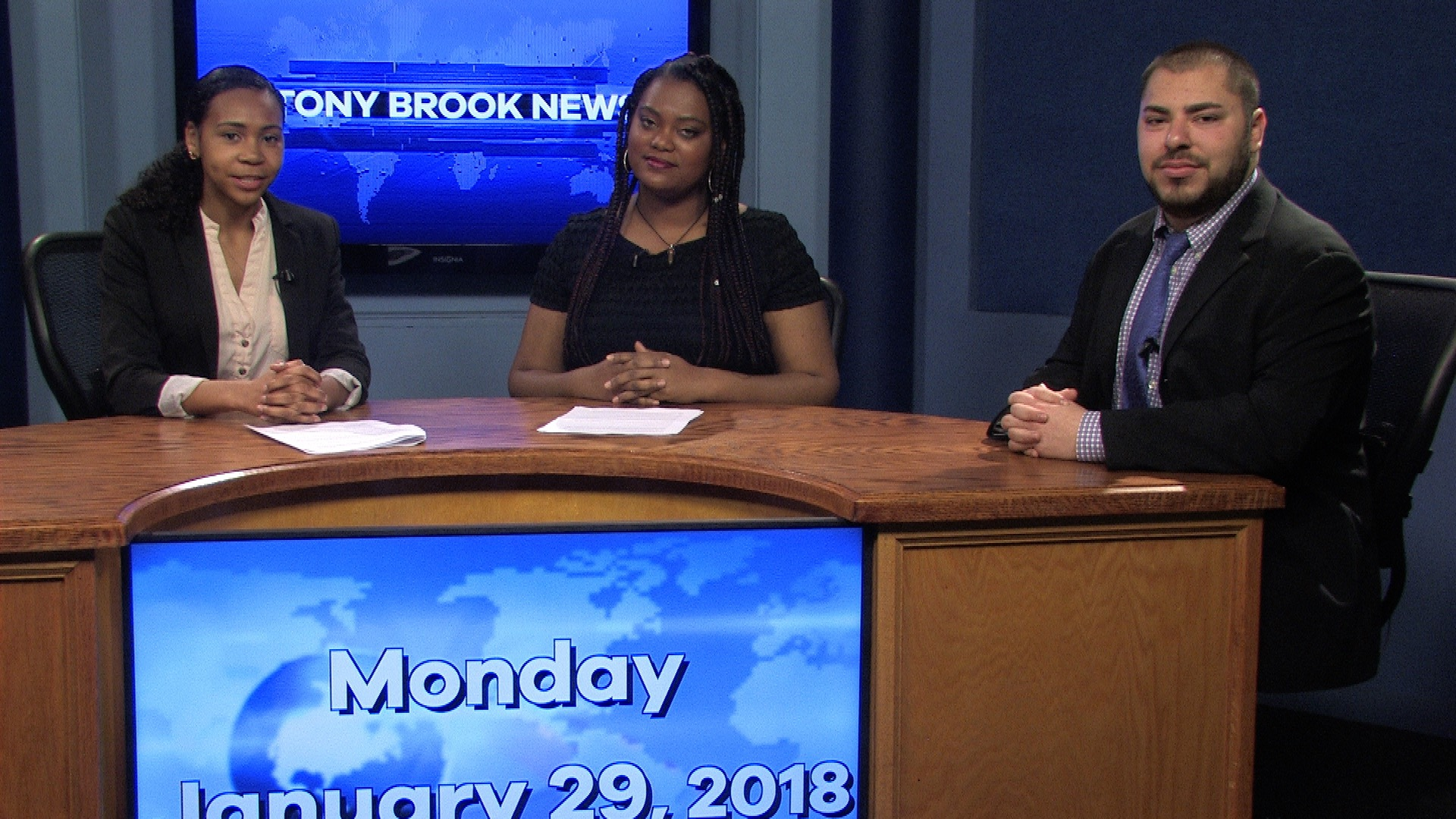 Stony Brook News – January 29, 2018