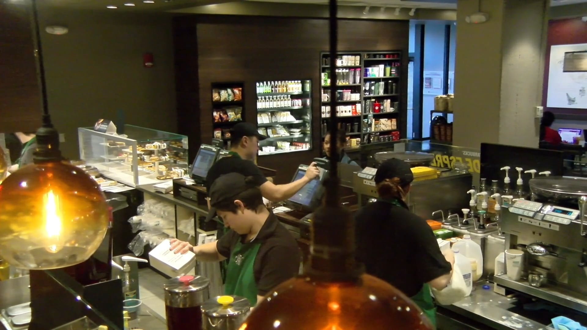 Stony Brook Newscast: Get App at Starbucks