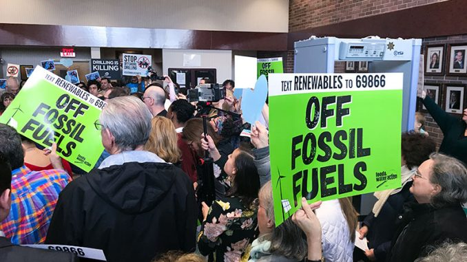 Long Island hearing filled with opposition to proposed offshore drilling