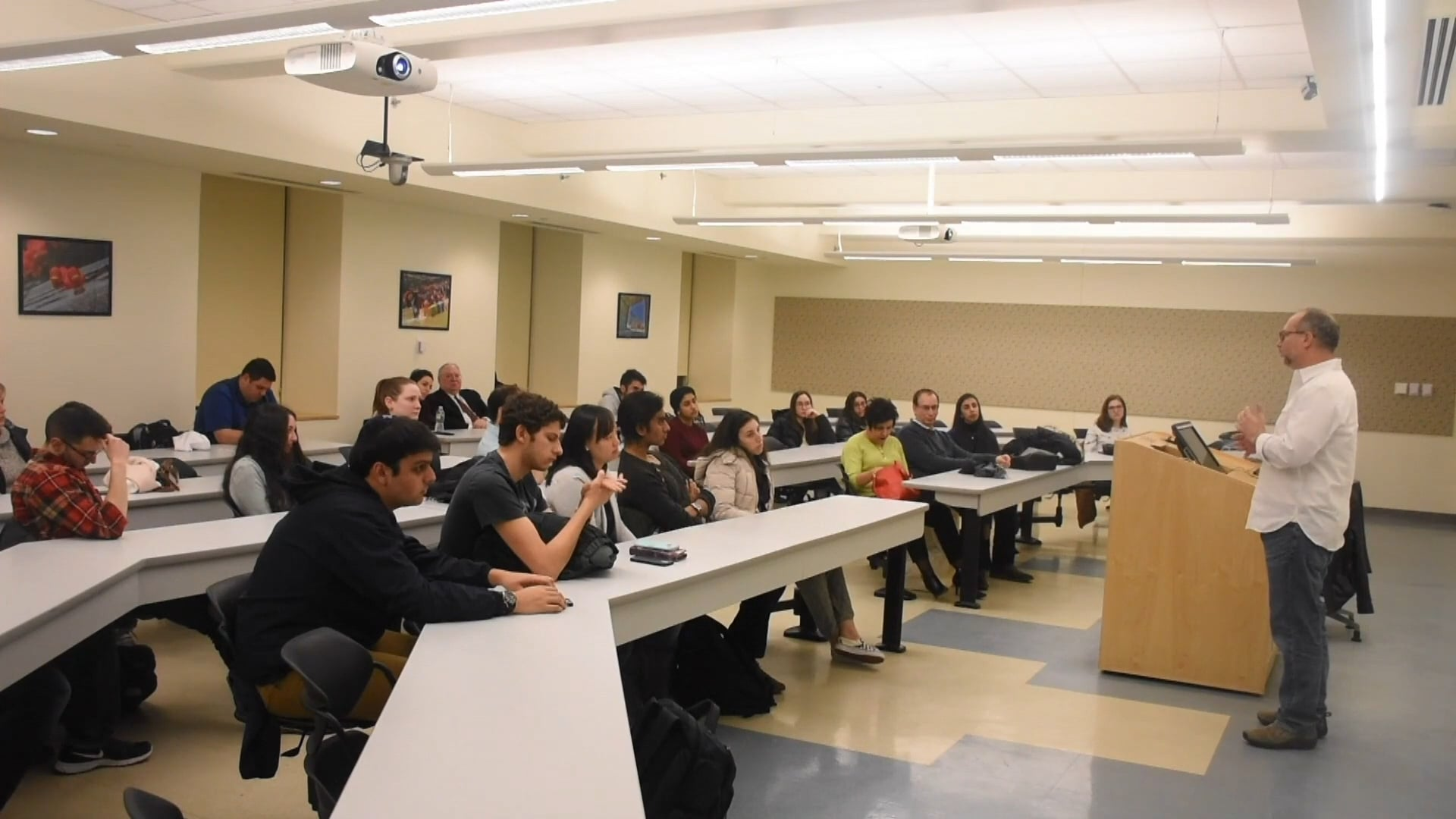 Stony Brook News: Refugee Savior Gives Lecture