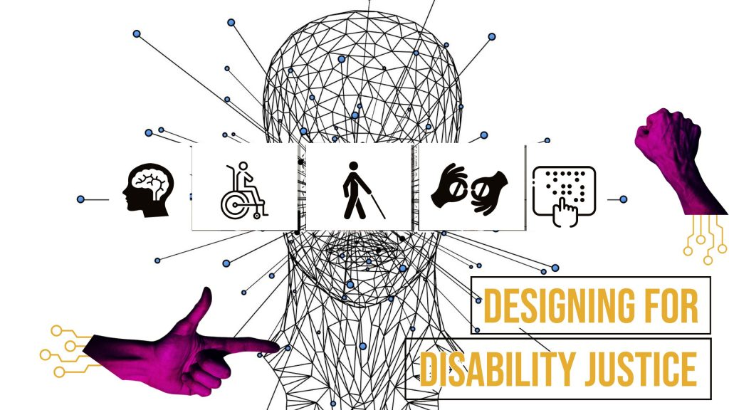 illustrated compilation of graphics connected with different disabilities