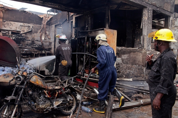 The Explosion: An account of a gas station disaster in Ghana