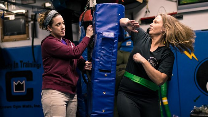 Martial arts school starts four-week female self-defense class
