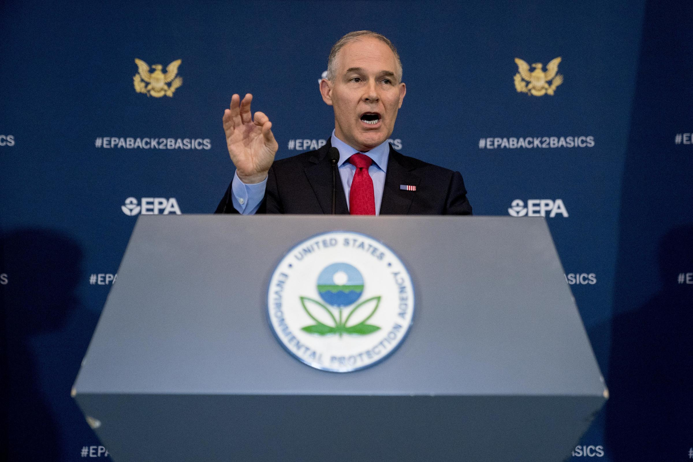 14 States Suing EPA Over Methane Emissions